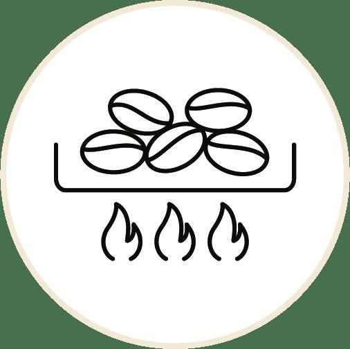 Op de juiste temperatuur gebrand