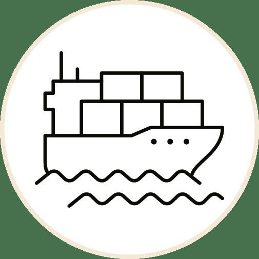Getransporteerd per schip